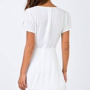 Princess Polly Dresses - Princess polly adore you white mini dress